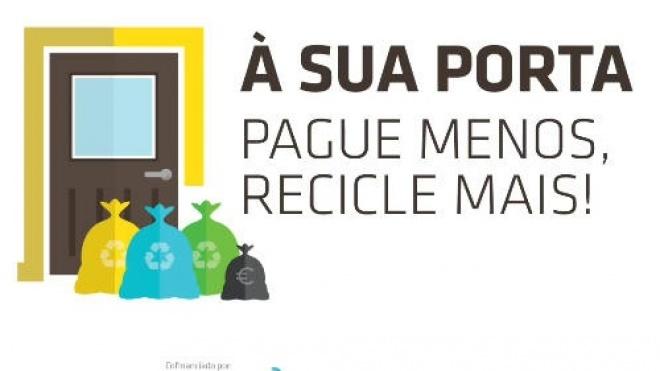 RESIALENTEJO: balanço positivo dos primeiros 2 meses da recolha de resíduos porta-a-porta