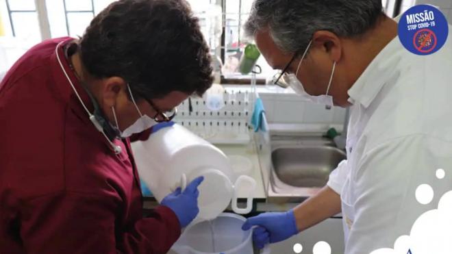 Adega Cooperativa de Vidigueira, Cuba e Alvito transforma aguardente em gel desinfetante