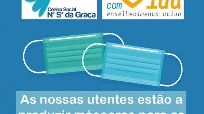 Baleizão: Centro Social Nossa Senhora da Graça faz máscaras para IPSS