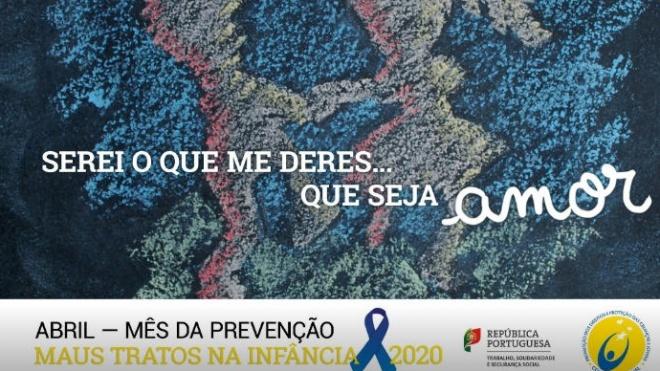 CPCJ/Beja: celebra mês de prevenção de maus tratos na infância com atividades virtuais