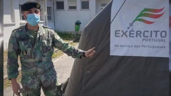 """Exército Português com apoio no """"terreno"""" a várias entidades"""