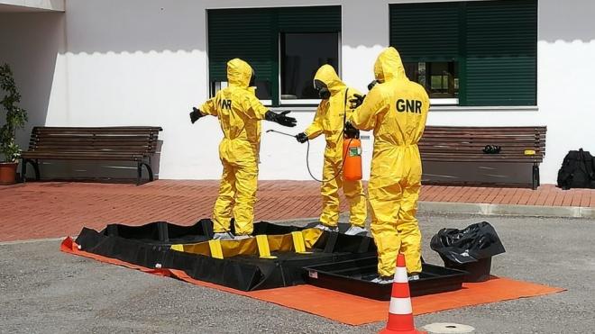 Lar de Vila Verde de Ficalho alvo de trabalhos de desinfeção