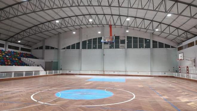 Pavilhão Municipal de Beja com nova iluminação