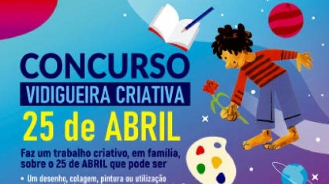 Câmara lança concurso Vidigueira Criativa – 25 de Abril