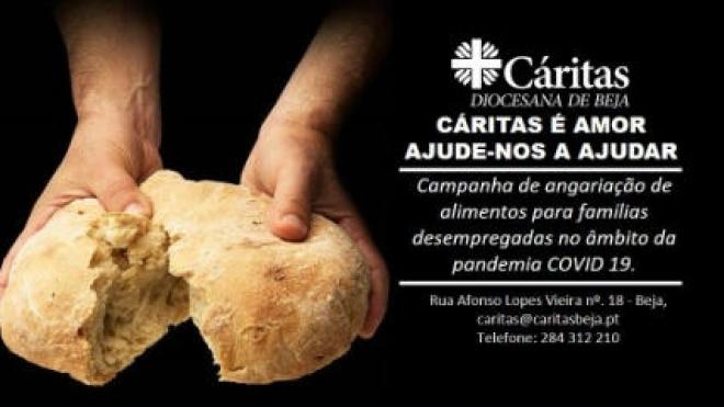 Cáritas de Beja promove campanha de Recolha de Alimentos