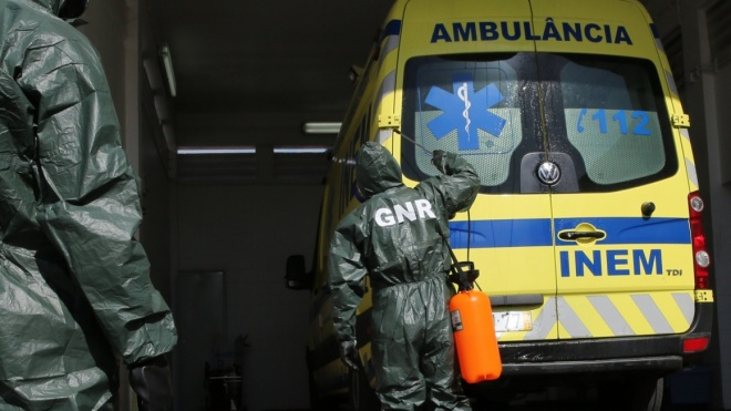 GNR descontaminou cerca de 3 mil ambulâncias