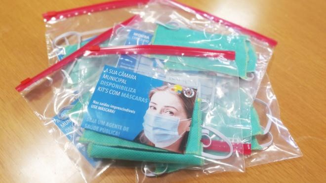 Câmara de Moura distribui 11.400 máscaras à população