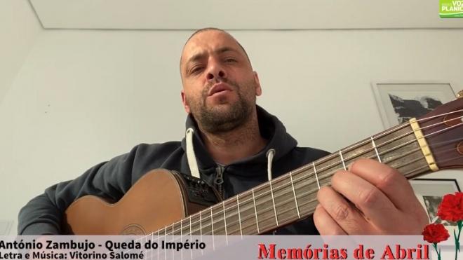 António Zambujo canta Queda do Império