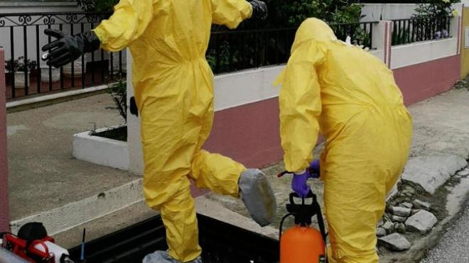 GNR descontaminou cerca de 2400 ambulâncias e 70 instalações