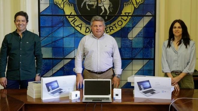 Câmara de Mértola disponibiliza computadores aos alunos
