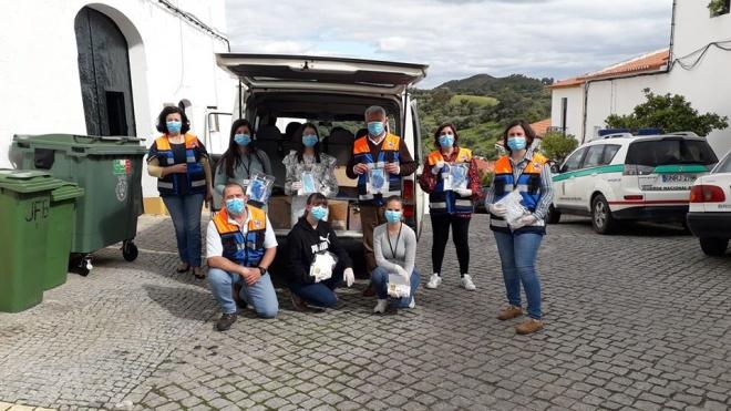 """Município de Barrancos distribuiu """"kits"""" pela população"""