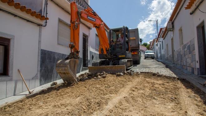 Reabilitação de arruamentos no concelho de Moura