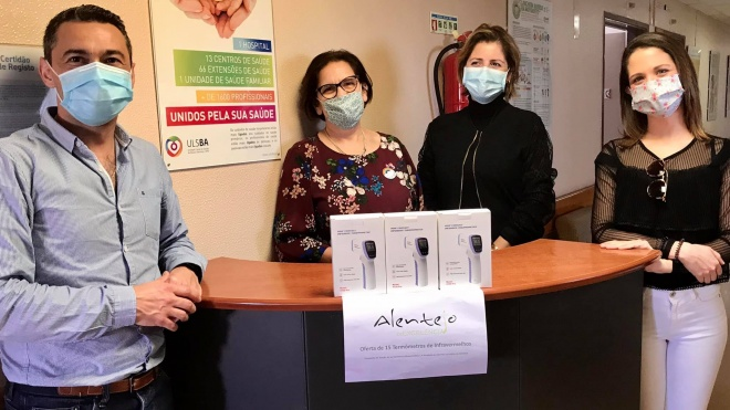Alentejo de Excelência entregou termómetros infravermelhos a Hospitais do Alentejo