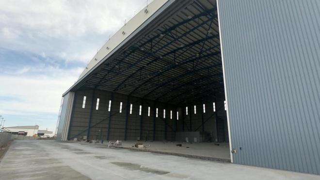 Projeto de construção do hangar no aeroporto de Beja prossegue