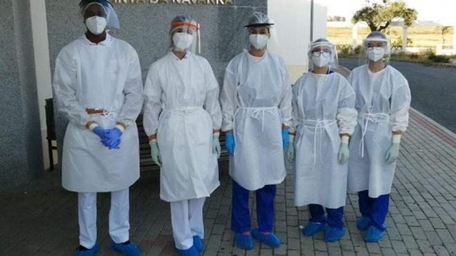 Enfermagem/Beja: alunos participam em realização de testes à covid-19