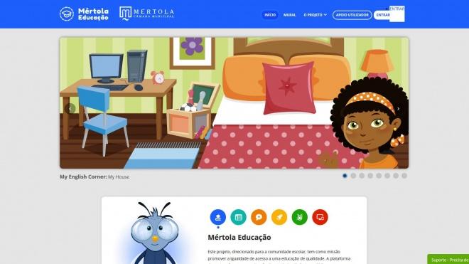 Câmara de Mértola disponibiliza Plataforma Educativa