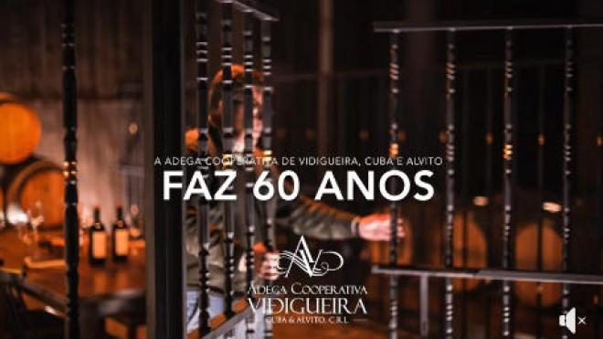 Adega Cooperativa de Vidigueira Cuba e Alvito sopra hoje 60 velas