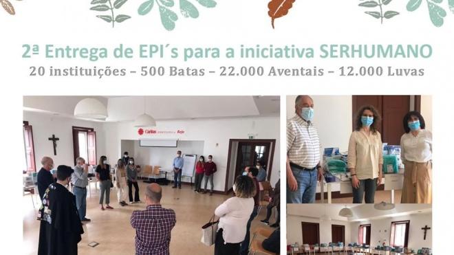 IPBeja fez segunda entrega de EPI's pela SERHUMANO