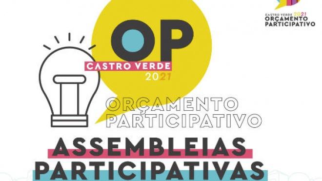 Castro Verde: propostas para o OP 2021 apresentadas em Assembleias Participativas