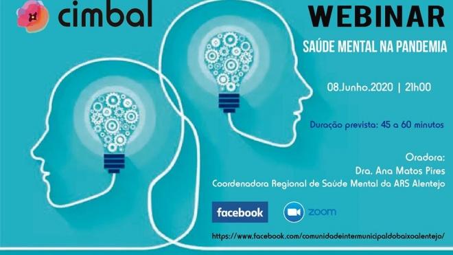 "CIMBAL promove sessão sobre ""Saúde Mental na Pandemia"""
