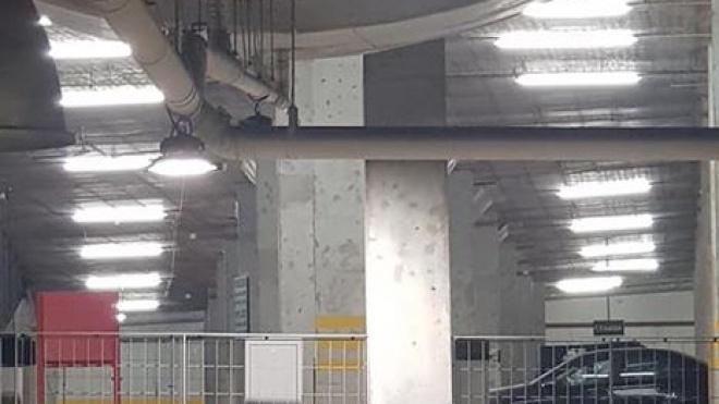 Parque subterrâneo de Beja com nova iluminação