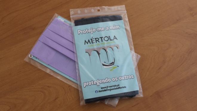 Junta de Freguesia de Mértola distribui máscaras a todos os residentes