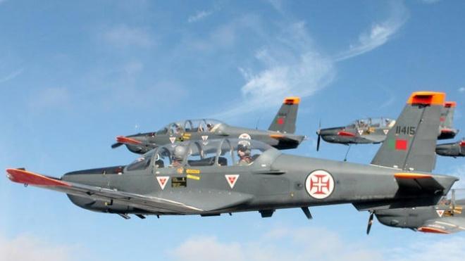 """A Esquadra 101 - """"Roncos"""" já está na Base Aérea de Beja"""