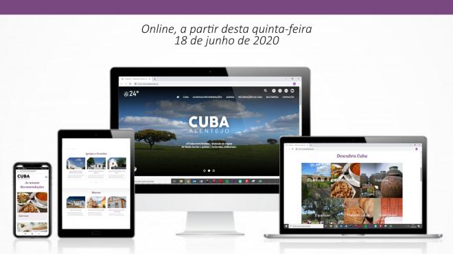 Cuba mostra as ofertas turísticas do concelho em nova plataforma