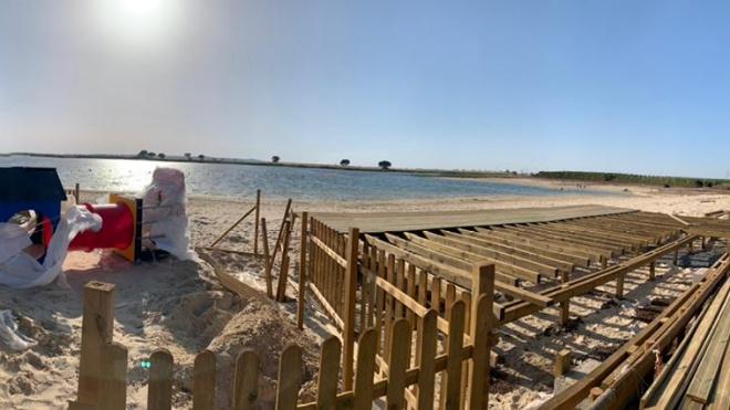 Cercibeja ganhou as concessões na Praia Fluvial dos Cinco Reis