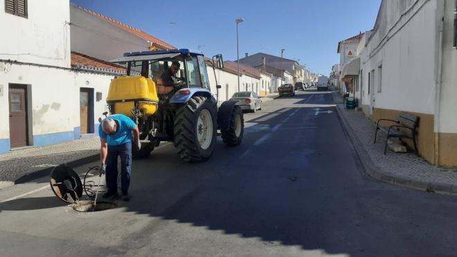 Ações de desbaratização e desratização em Castro Verde