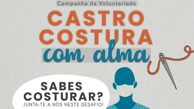 """""""Castro Costura com Alma"""" procura voluntários"""