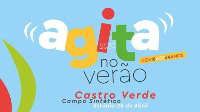 """Castro Verde: """"Agita no Verão 2020"""" com inscrições abertas"""