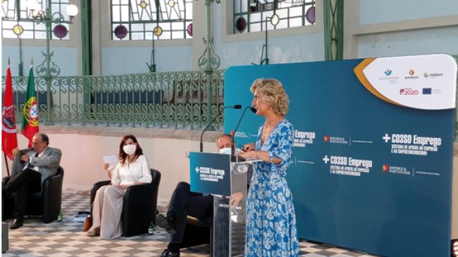 Governo lançou apoio de 90 milhões de euros para apoio direto à criação de emprego