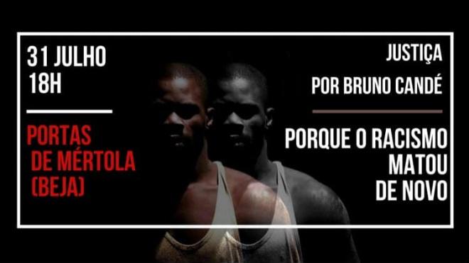 Bruno Candé é homenageado hoje em Beja