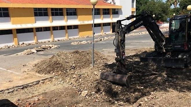 Ferreira do Alentejo requalifica parque de estacionamento junto ao Jardim Público