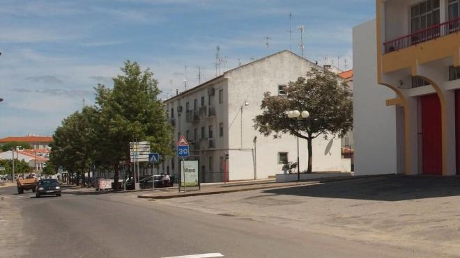 Obra na Avenida dos Bombeiros Voluntários em Moura já começou