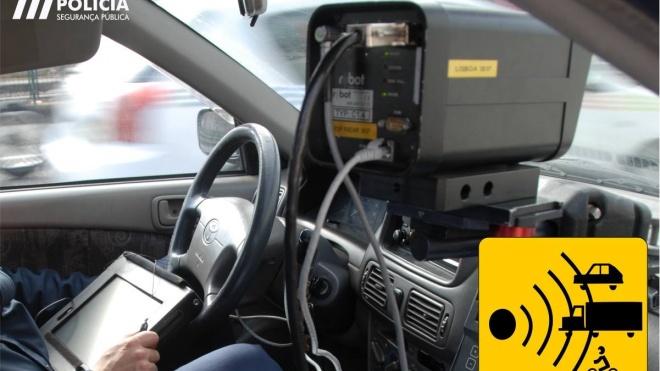 """Campanha de segurança rodoviária da PSP """"Abranda o Ritmo"""""""