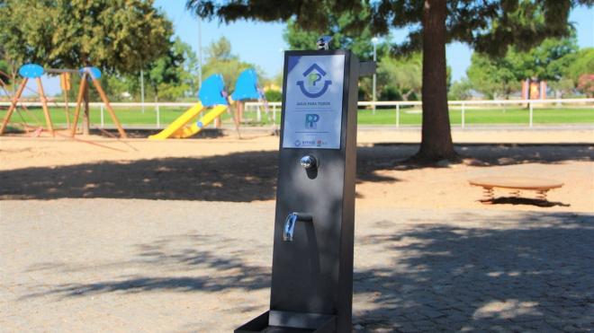 Parque da Cidade em Beja tem novo bebedouro com dupla função