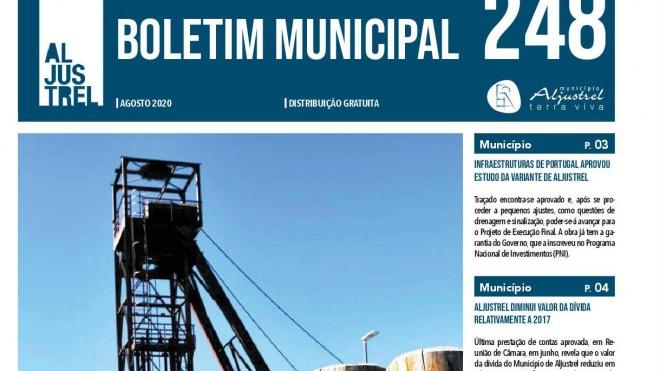 Boletim Municipal de Aljustrel tem nova imagem gráfica