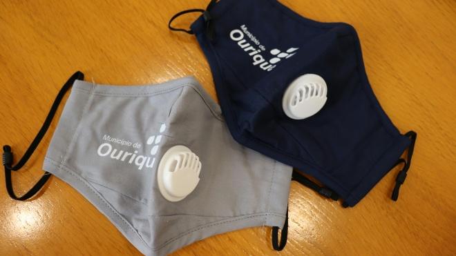 Câmara de Ourique entrega máscaras à população