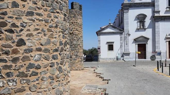 Entradas do Castelo de Beja vão ter novos acessos pedonais