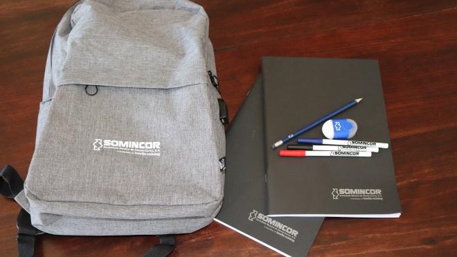 Ourique: Alunos do Básico e Secundário recebem kits escolares da SOMINCOR