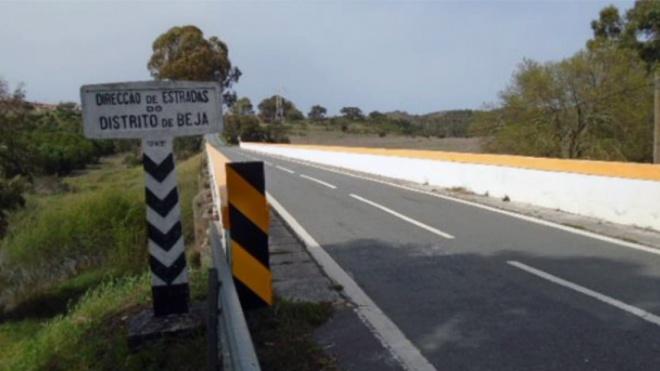 IP iniciou obras de beneficiação na Ponte do Vascão (EN2)