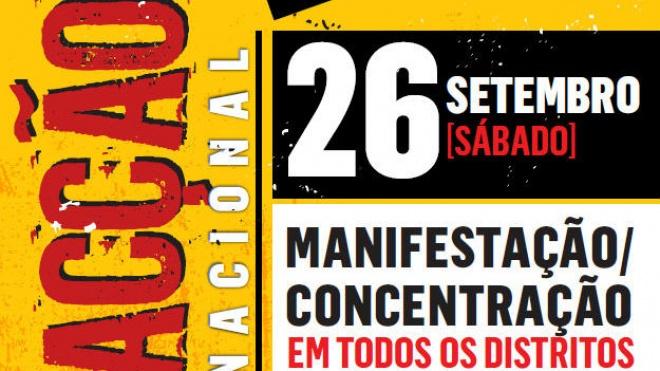 CGTP realiza neste sábado uma ação de luta nacional