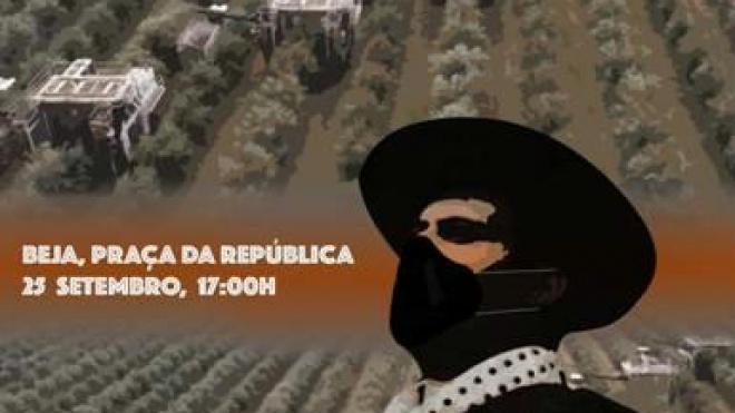 """""""Travar o Ecocídio - Acção Climática"""" hoje em Beja na Praça da República"""