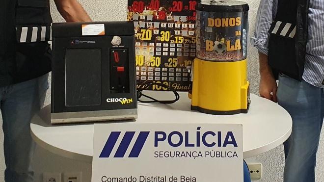 PSP de Beja deteve 2 pessoas por tráfico de estupefacientes