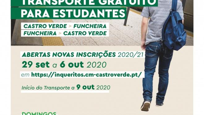 Castro Verde: Câmara retoma serviço gratuito de transporte até à estação da Funcheira