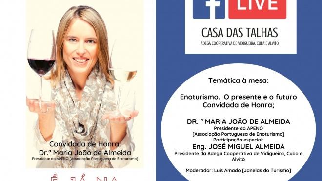 Casa das Talhas em Vidigueira recebe mais uma sessão das Conversas D'Adega