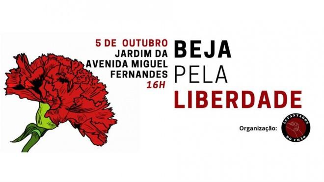 """""""Levantados do Chão"""" faz hoje a iniciativa """"Beja pela Liberdade"""""""