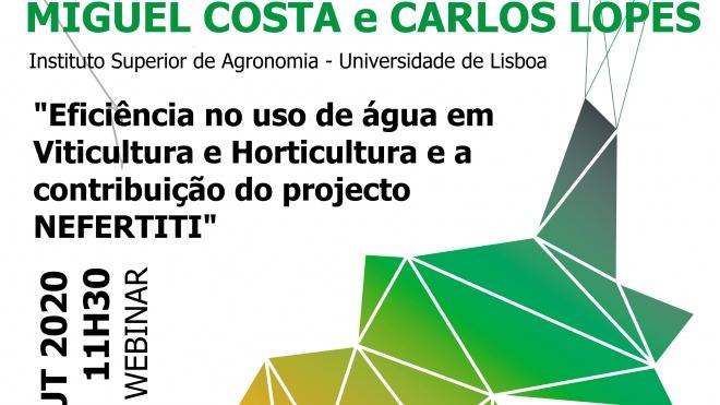 CEBAL promove sessão sobre a eficiência no uso da água em Viticultura e Horticultura